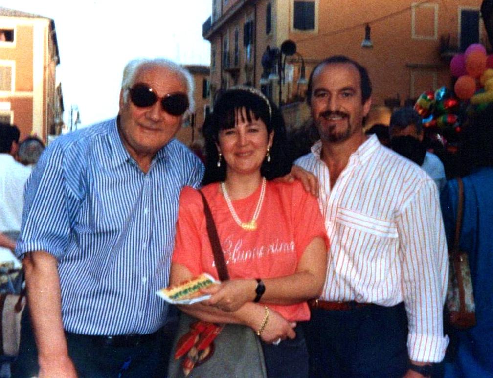 Lazer Radi, Katia (Vushmaqi), Marko (Di Capua) dhe unё, Genzano - 15 qershor 1991