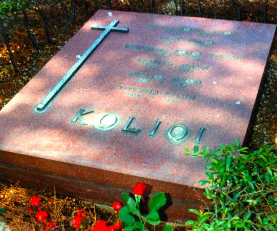 Varri i mjeshtrit Koliqi - Romё 23 korrik 1991