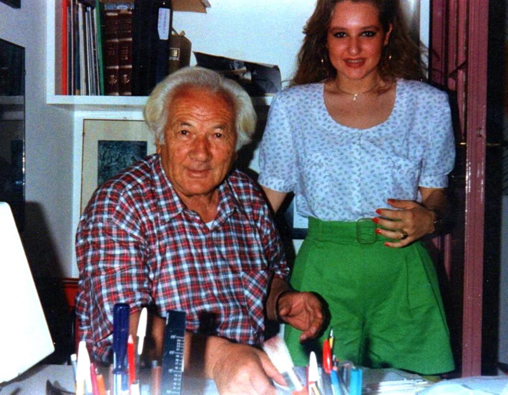 Lazri dhe Laura Sciamana - Romё 9 korrik 1991