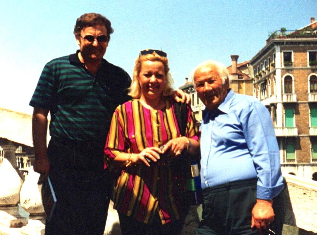 Lazri dhe Megi e Viktor Shahini - Venezia 1991