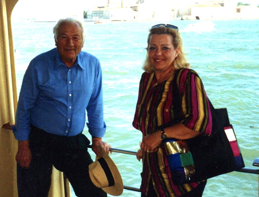 Lazri dhe Megi Shahini - Ishulli i Shёngjergjit - Venezia, 12 qershor1991