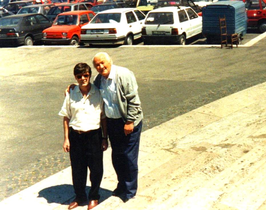 Lazer Radi dhe Nuri Hoti - Tirane 1991
