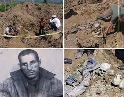 Gjetja e eshtrave te Tom Ndojes dhe Sokol Sokolit - vrare ne Revolten e Qafe-Barit