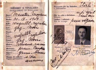 Pasaporta e Migjenit