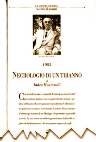 Indro Montanelli - Nekrologjia e nji Tirani