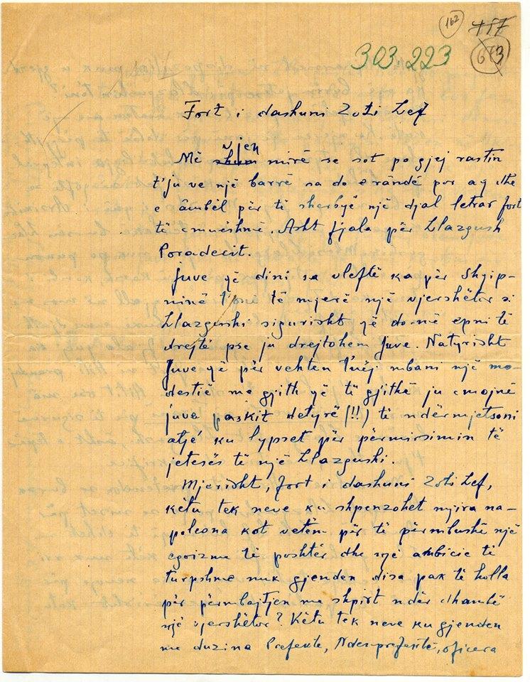 Filip Papajani i shkruan Lef Nosit