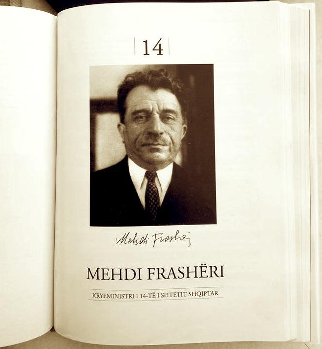 Kryeministri Mehdi Frasheri