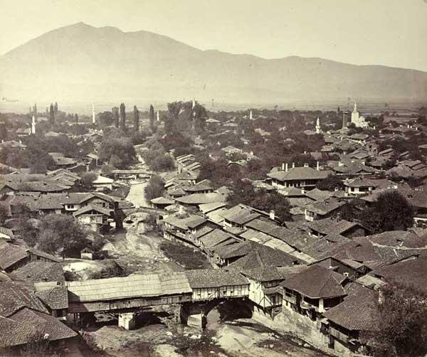 Prizreni - Shtator 1863 (Foto: Josef Székely)