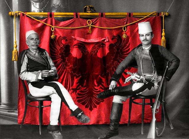 Ded Gjo Luli dhe Palok Traboini 1911