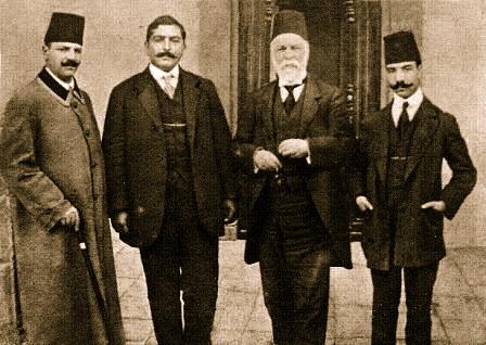 Ismail Qemali dy djemte e tij dhe Lef Nosi