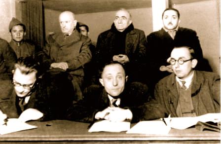Para gjyqit - Nosi-Harapi-Bushati Tirane 1946