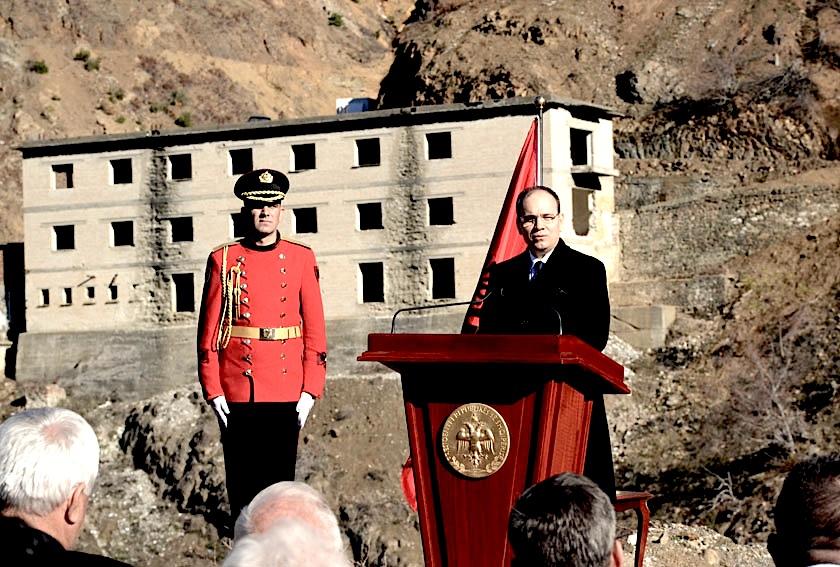 Presidenti Nishani ne Spaç - 6 dhjetor 2015