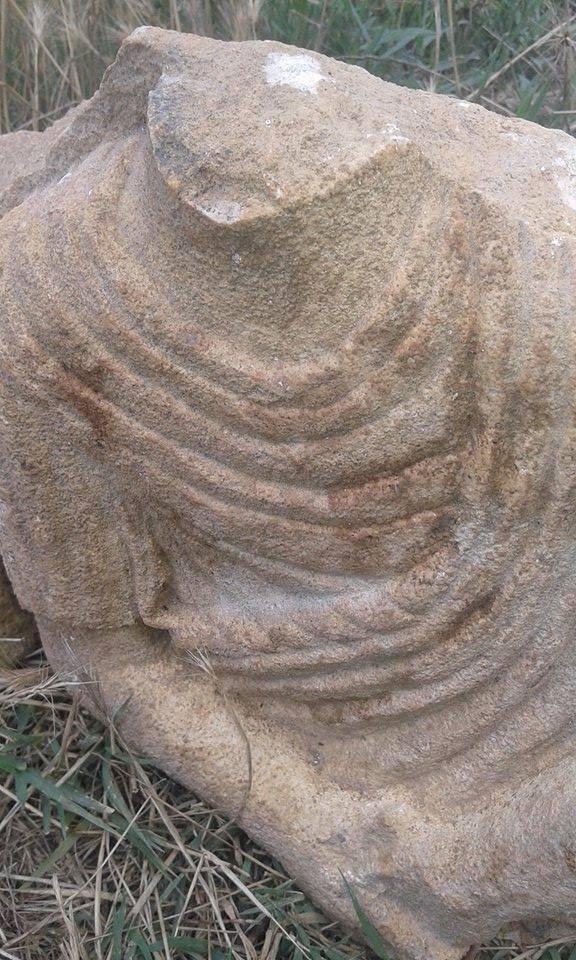 Statuje gruaje e gjetur ne Tomorr