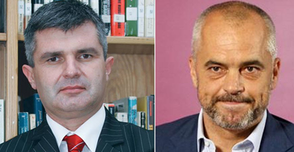 Historiani Romeo Gurakuqi & Kryeministri Edi Rama