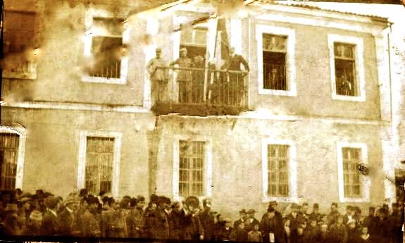 Shpallja e Republikes Vetqeveritare te Korçes (10 dhjetor 1916)