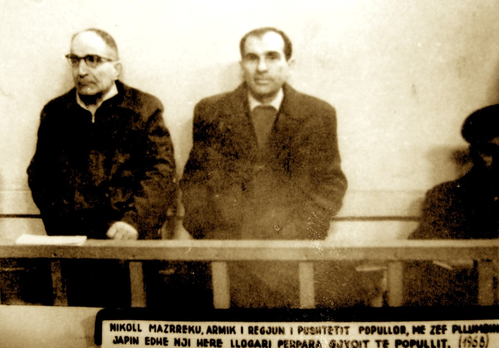 """Nikoll Mazreku e Zef Pllumi - """"Armiqtë e Popullit"""" nën akuzë"""