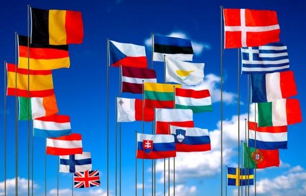 Flamujt e Komisioni Europi