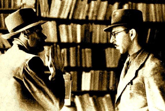 Profesor Selman Riza dhe Poeti Lasgush Poradeci