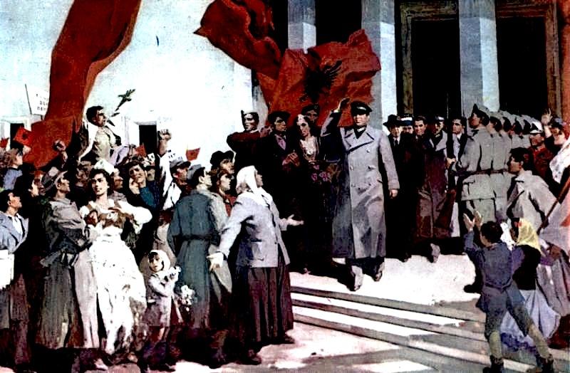 Guri Madhi - Shpallja e Republikes 1946