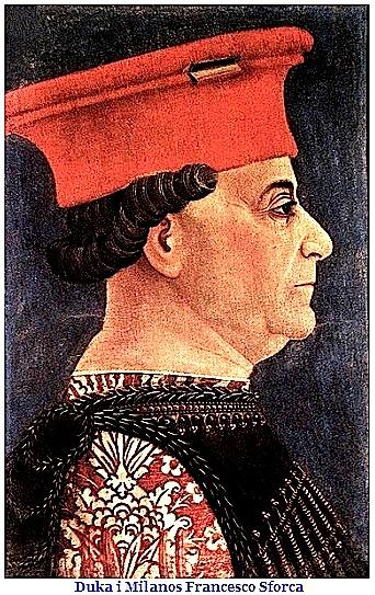 Duka i Milanos - Francesco Sforca