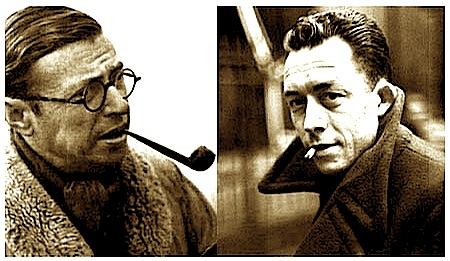 Albert Camy & Jean Paul Sartresartre