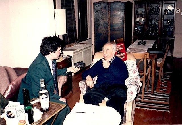 Intervistë në shtëpinë e Isuf Luzajt