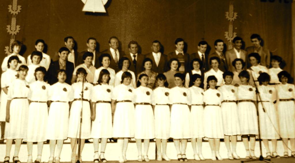 Kori mёsues-nxёnёs i gjimnazit tё Lushnjёs, 1986