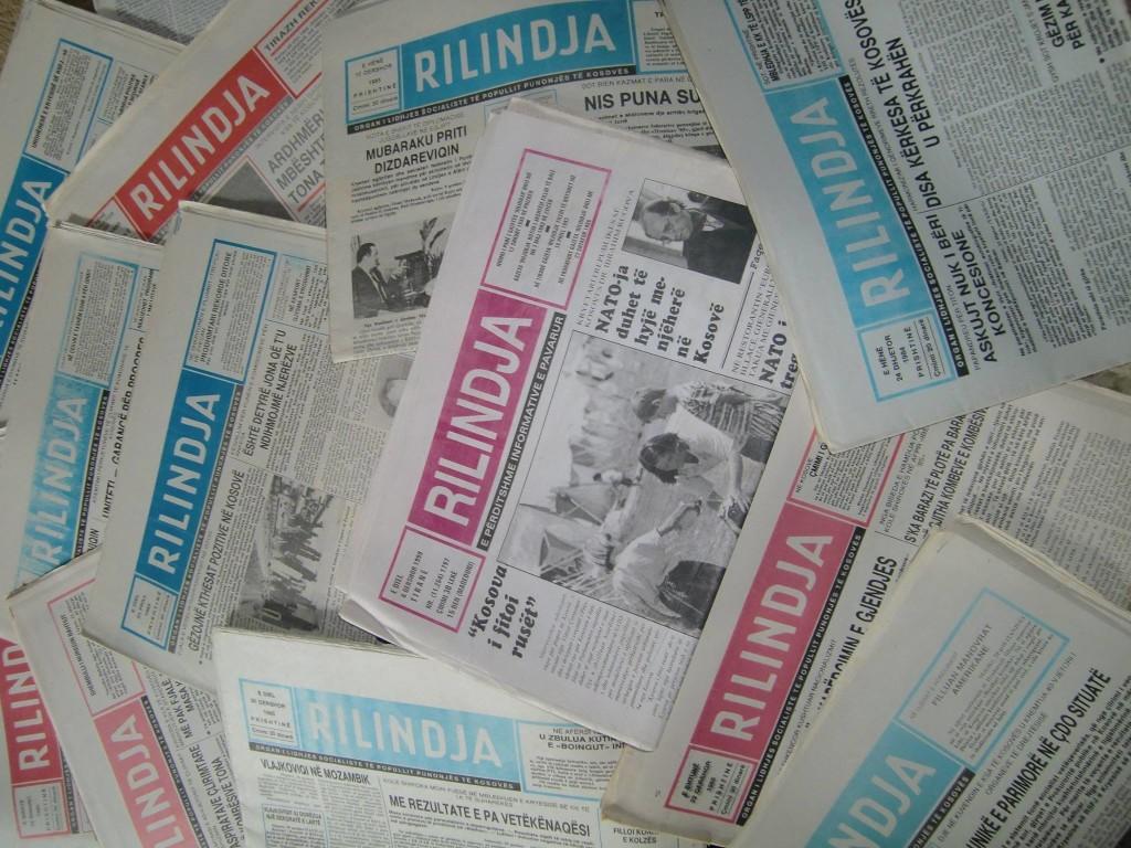 """Gazeta """"Rilindja"""" - (1945-1999)"""