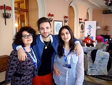 Ana Radi, Alessio Bernabei e Lorenza Fici - Sanremo 2016