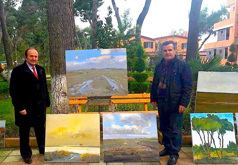 Me piktorin Pashk Pervathi - Divjake 2016