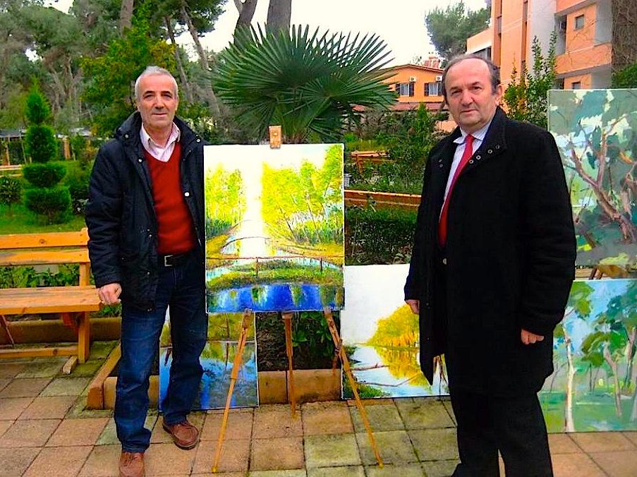 Me piktorin lushnjar Luçi Pavlo Shandro - Divjake 2016