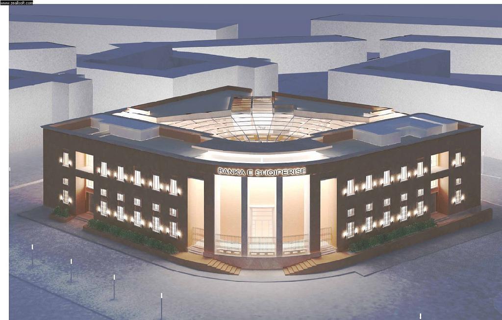 Projekti i Bankës së Shtetit Shqiptar