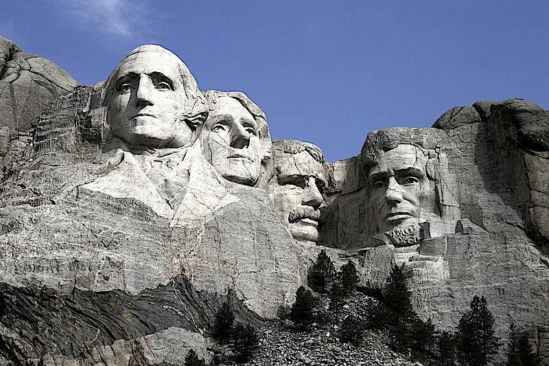 Katër Presidentët - Mount Rushmore Monument