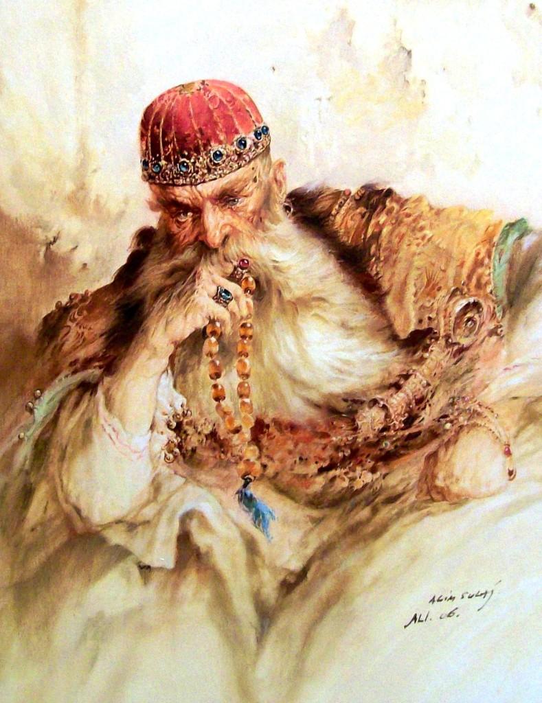 Ali Pashë Tepelena (vaj në kanavacë Agim Sulaj)