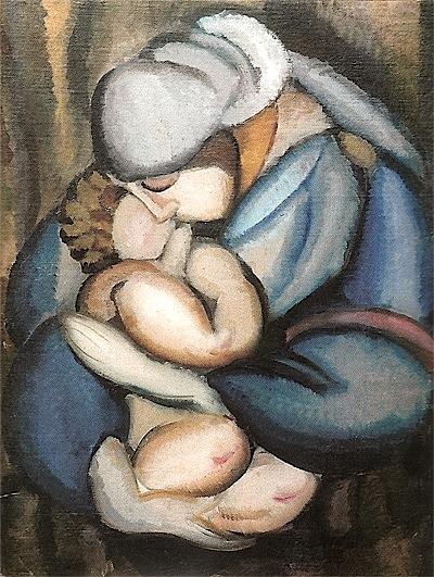 Memesia... Tamara de Lempicka - 1922