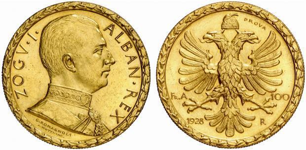 100 Franga Ari - viti 1928