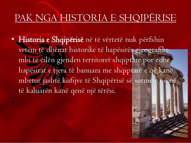 Historia e Shqiperise