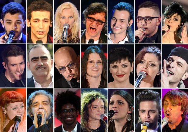 Sanremo - 2016 - Perfaqsuesit Big