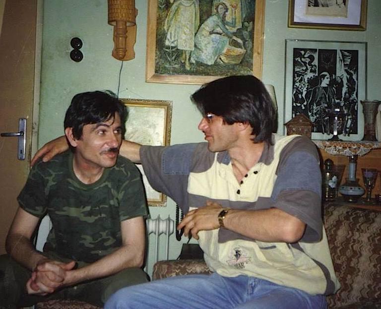 Demalia dhe Jamarberi Korrik 1992 në shtëpinë e Madus