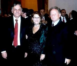 Sekretari i Përgjithshèm i Presidencës, Aco Flloko, bashkèshortët Vilhelme dhe Fitim Haxhiraj