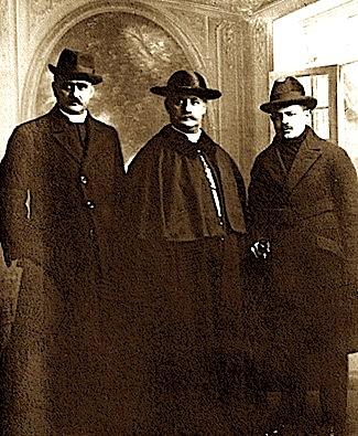 Gjergj Fishta - Luigj Bumci - Dhimiter Berati - Paris 1919