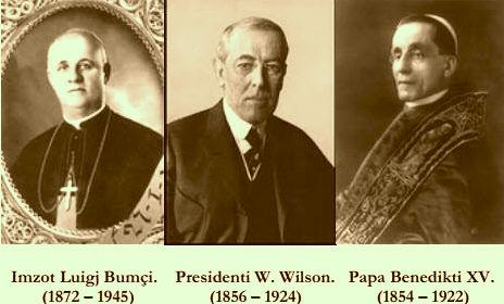 Shpëtimtarë të Shqipërisë: Bumçi-Wilson-Benedikti XV