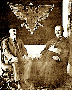 Imzot Bumçi dhe Aqif Pashe Elbasani