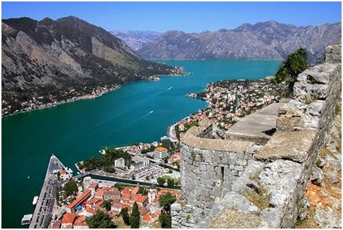 Pamje nga Kotorri - Vendlindja e Imzot Preles