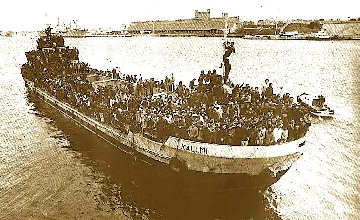 Mars 1991 - Eksodi i madh i shqiptarëve drejt Italisë