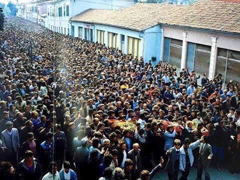 Shkoder, Prill 1991