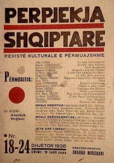 "Revista letraro-kulturore ""Perpjekja Shqiptare"""