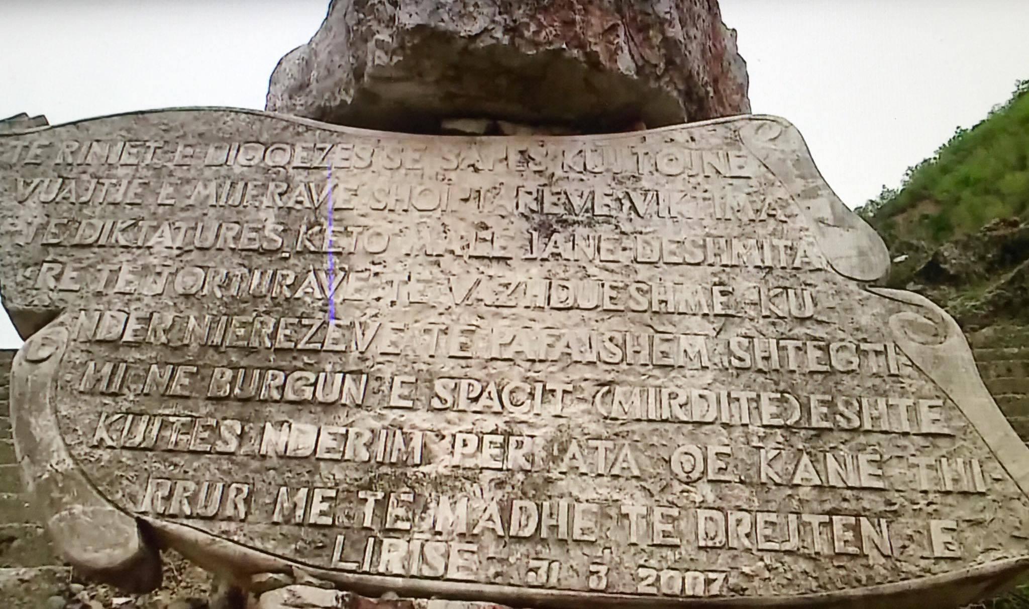 Pllaka Përkujtimore e Revoltës së Spacit