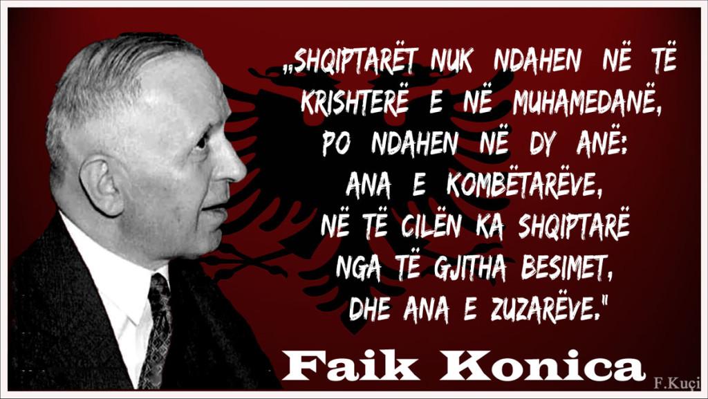 Faik Konica - Thenie