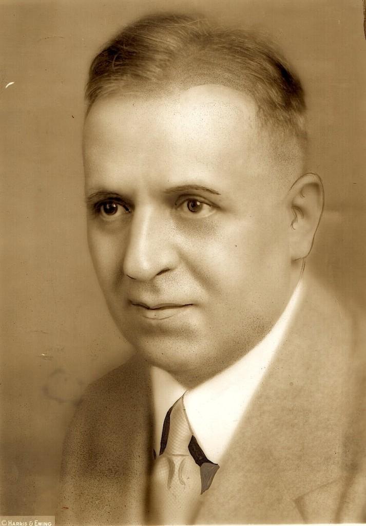 Portret i Faik Konicës studio Harris-Ewing - 20 gusht 1927